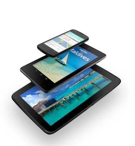 Nexus: The best of Google, now in three sizes